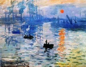 Клод Моне «Впечатление. Восход солнца»1872. Музей Мармоттан, Париж