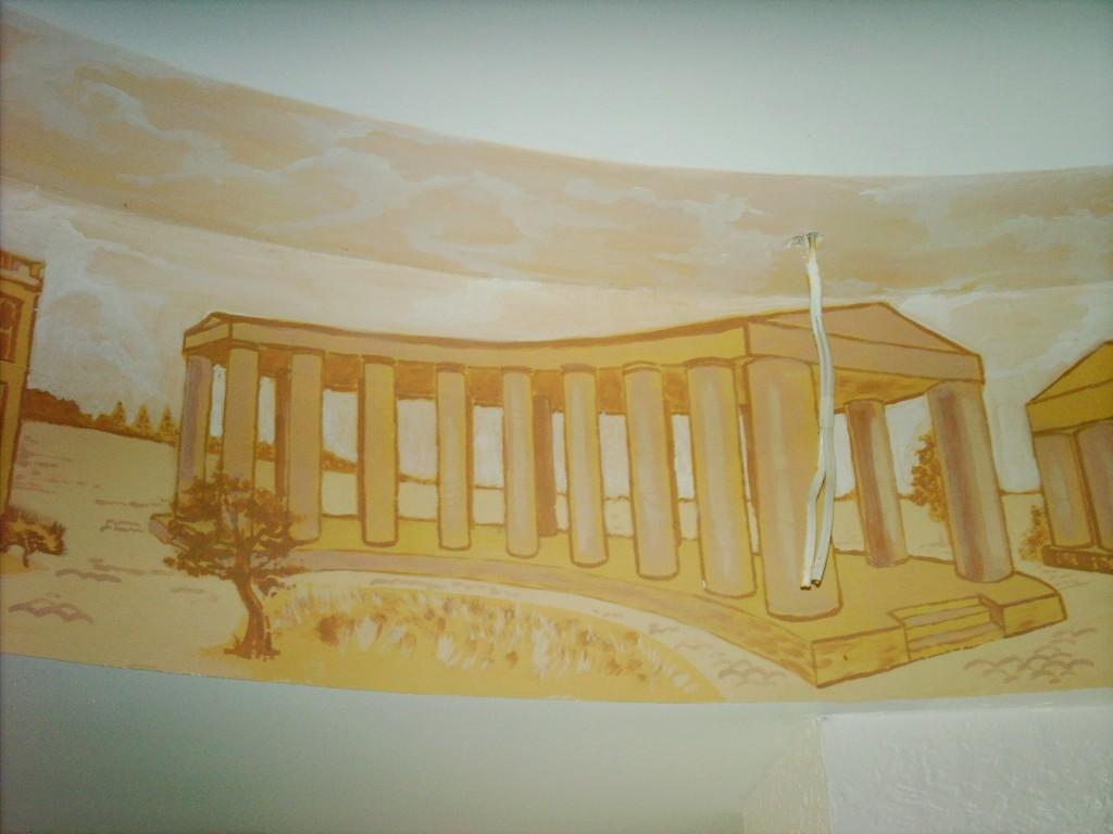 Рисунок на стене в Одессе