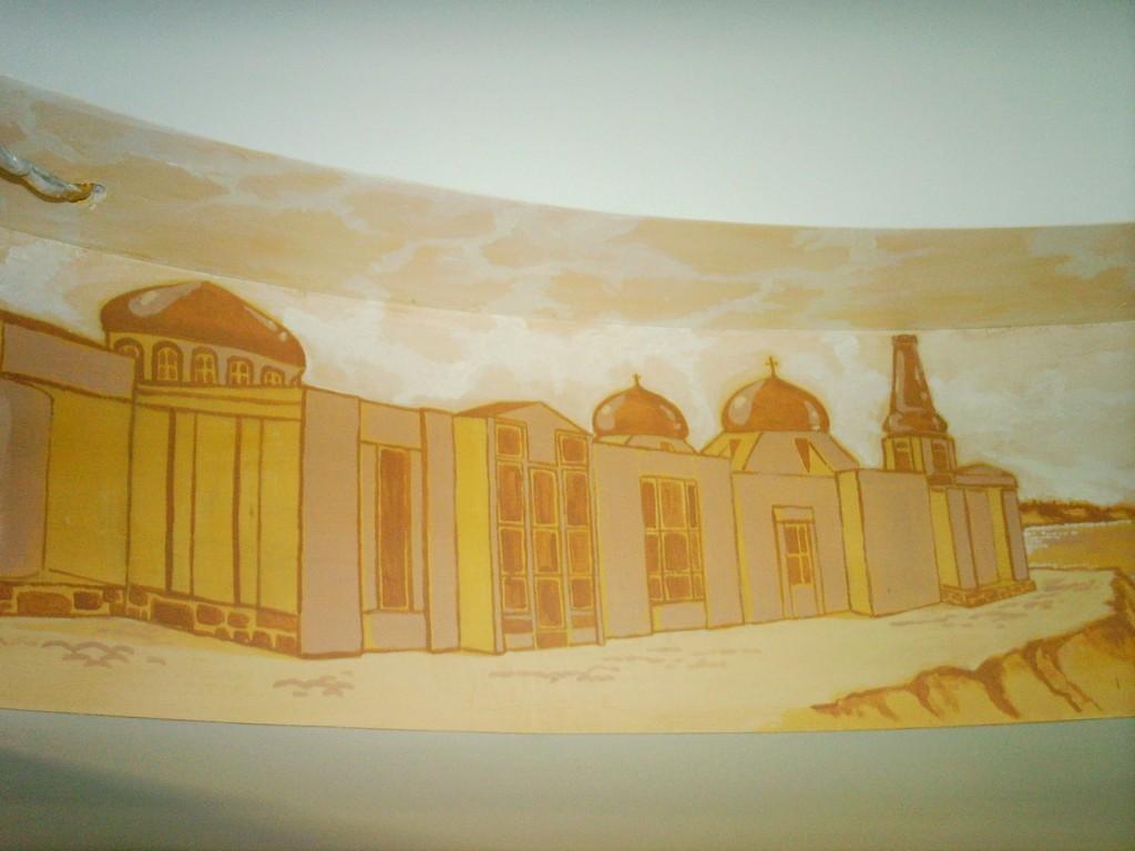 Картина на стене в Одессе