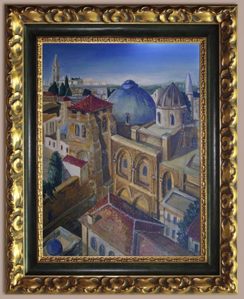 Храм гроба Господнего в Иерусалиме