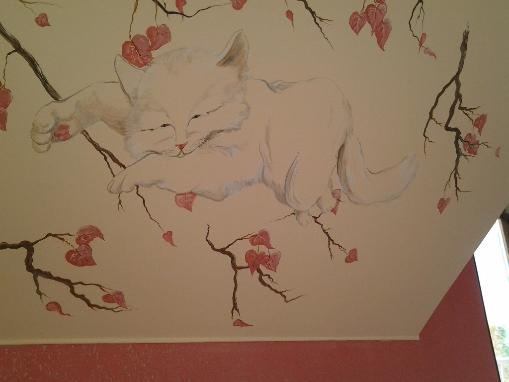 нарисованный кот