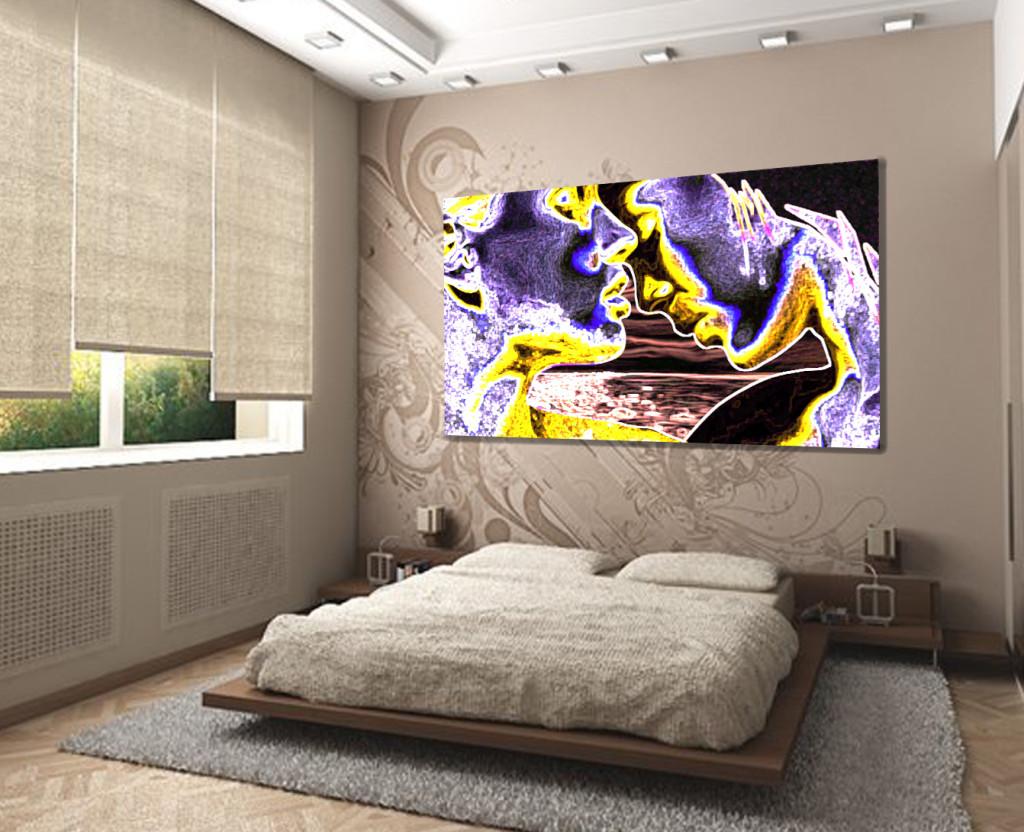 Нежная и вдохновляющая картина для спальни