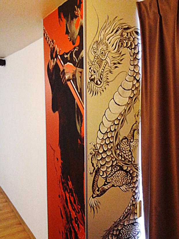китайская роспись стен