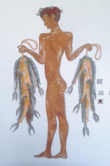 фреска греческая