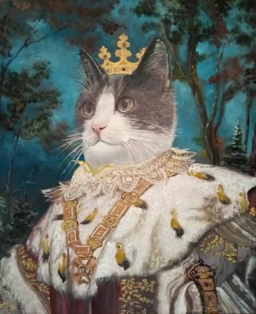 портрет по фото животных