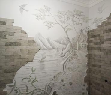 рисунок с рельефом